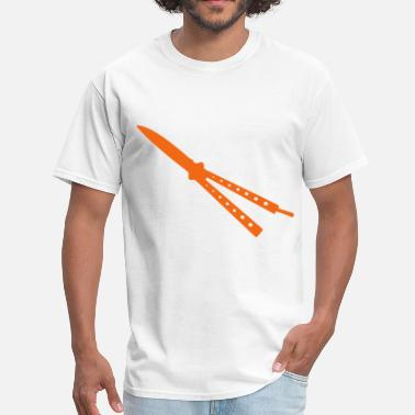 Butterfly Knife Butterfly Knife - Men's T-Shirt