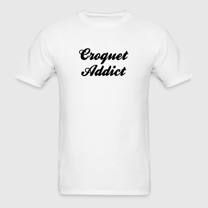 croquet addict - Men's T-Shirt