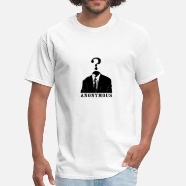Black Wallstreet anonymous (black) - Men's T-Shirt
