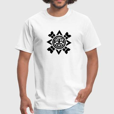 Tribal Sun Symbol VECTOR - Men's T-Shirt