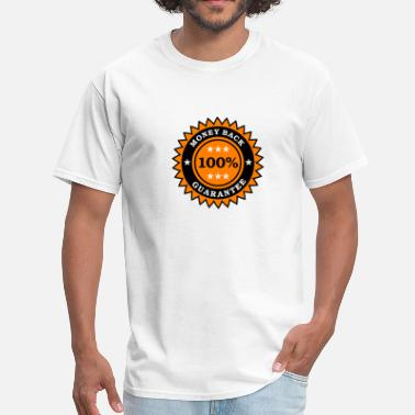 Satisfaction 100% guarantee - Men's T-Shirt