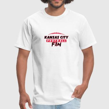 Kansas City football fan - Men's T-Shirt