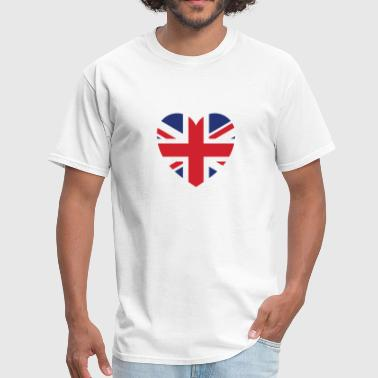 british heart - Men's T-Shirt