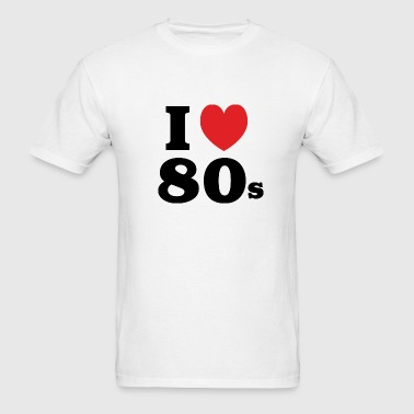 I Heart 80's - Men's T-Shirt