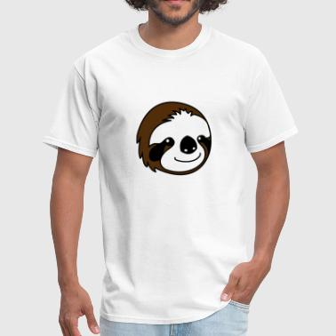 Sloth Cartoon Sloth Cartoon - Men's T-Shirt