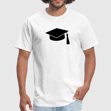 University graduation hat - Men's T-Shirt