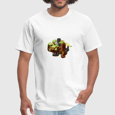Overwatch Bastion Overgrown Spray Tee Shirt - Men's T-Shirt