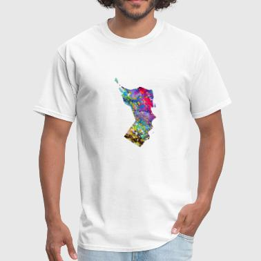 Oman Oman map - Men's T-Shirt