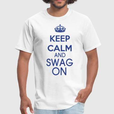 KEEP CALM AND SWAG ON - Men's T-Shirt