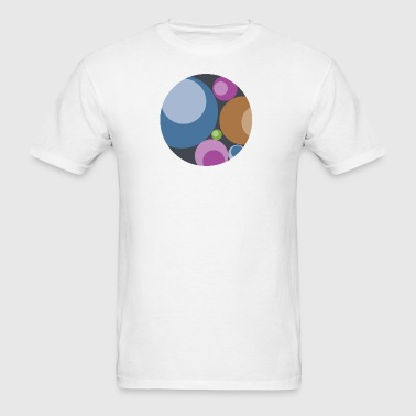 Playful Orbs - Men's T-Shirt
