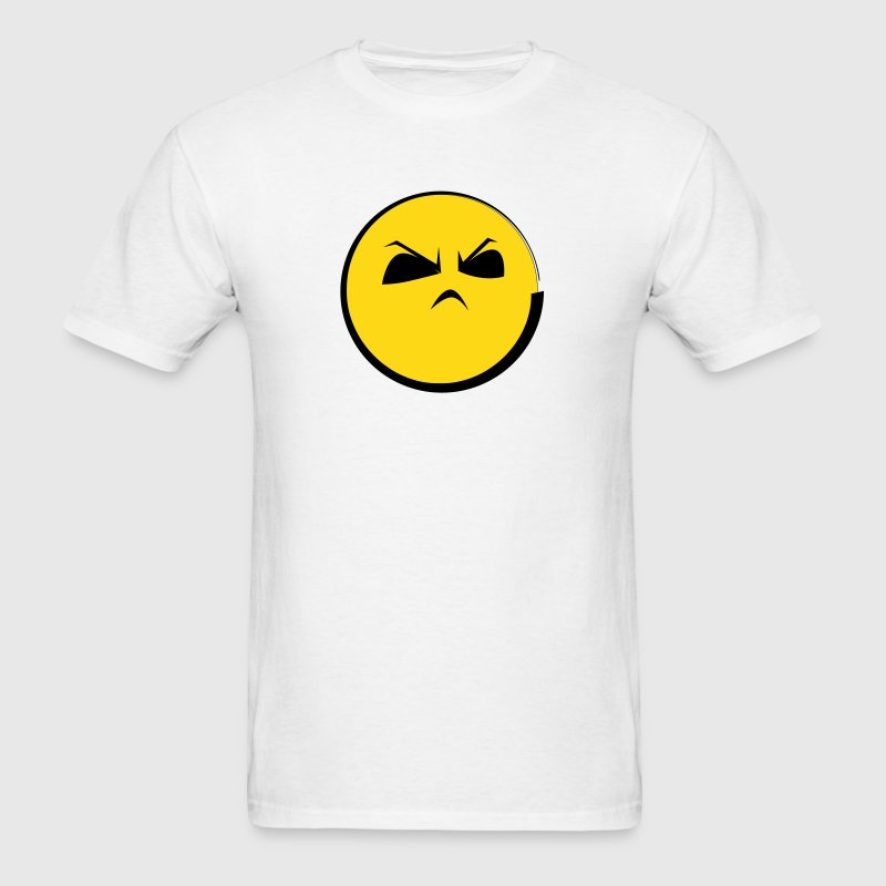 HMPH! Angry Emoticon Face (emotion) - Men's T-Shirt