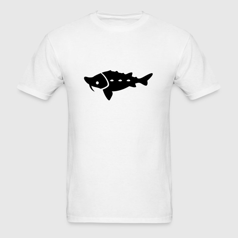 Sturgeon Silhouette - Men's T-Shirt