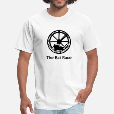 9 To 5 The Rat Race (Working 9-5) - Men's T-Shirt