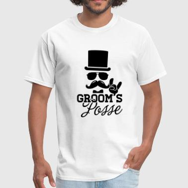 Groom Wedding Marriage Stag night bachelor party - Men's T-Shirt