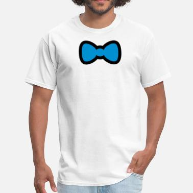 Bow Bow Tie - Men's T-Shirt