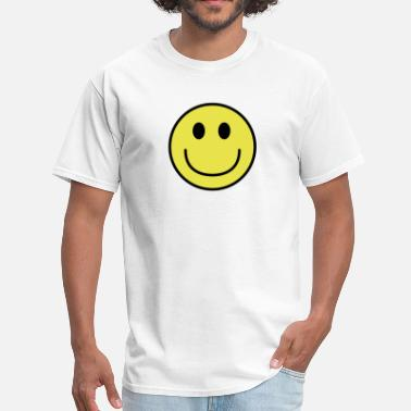Big Smiley Face Smiley face big smile - Men's T-Shirt