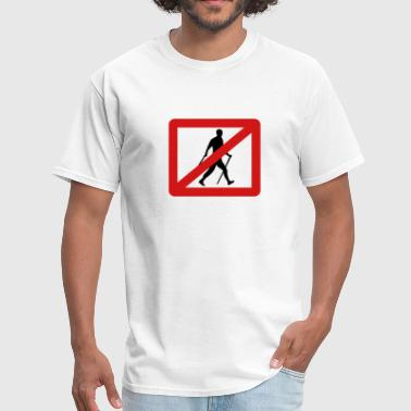 No Nordic Walking - Men's T-Shirt