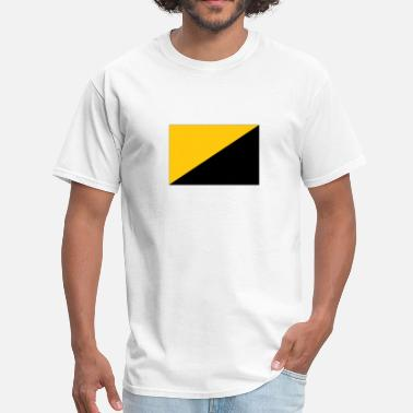 Capitalism anarcho-capitalist flag - Men's T-Shirt