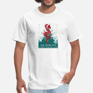 Dragon Sex Alaskan Fire Dragon - Men's T-Shirt