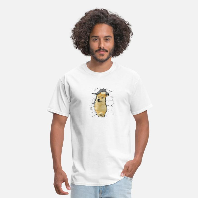 Animal T-Shirts - Doge - Men's T-Shirt white