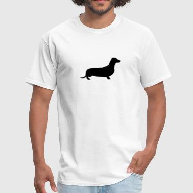 Weiner weiner dog - Men's T-Shirt