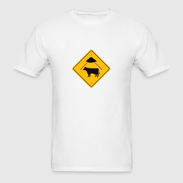 cowabduction - Men's T-Shirt
