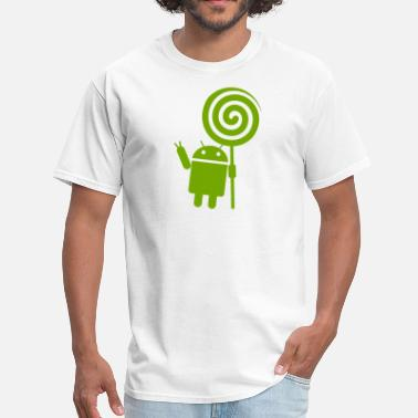 Android Android Lollipop - Men's T-Shirt