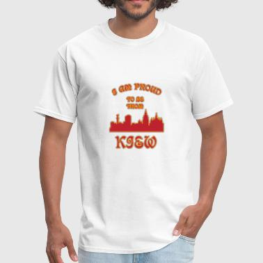 I Love Kiev KIEV I am proud to be from - Men's T-Shirt