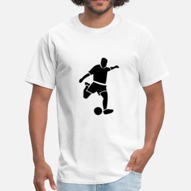 Sports Soccer Player - Men's T-Shirt