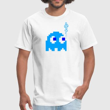 Phish Ghost Blue Ghost - Men's T-Shirt