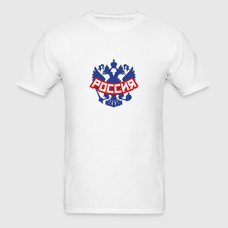 Россия Russia - Men's T-Shirt