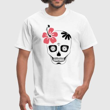 Day of dead sugar skull - Men's T-Shirt