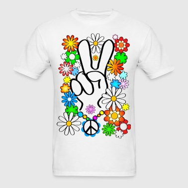 Peace, Baby! - Men's T-Shirt