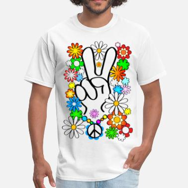 60s Peace, Baby! - Men's T-Shirt