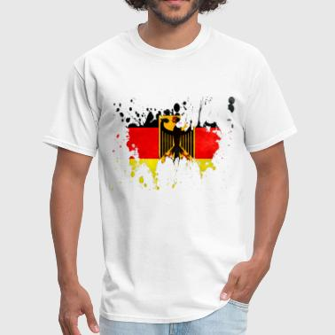 splatter germany - Men's T-Shirt