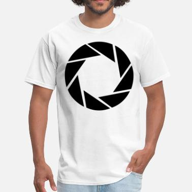 Aperture Science Geek Aperture science - Men's T-Shirt