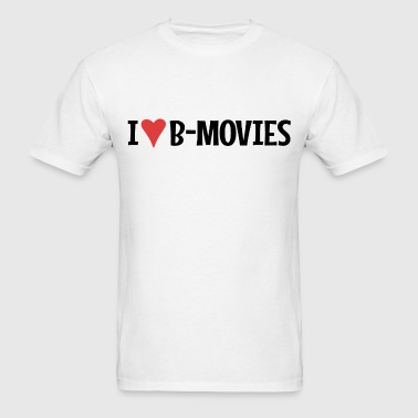 I Heart B-Movies - Men's T-Shirt