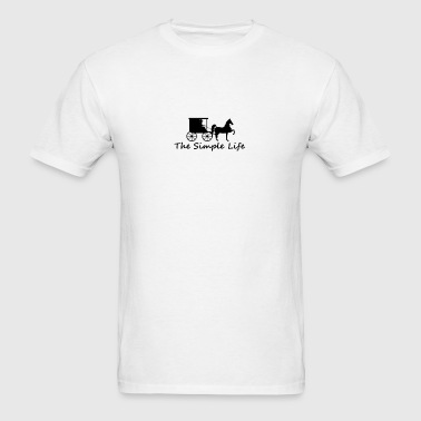 The Simple Life - Men's T-Shirt