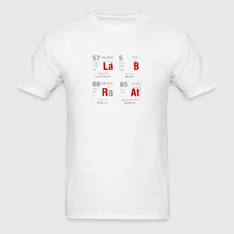 Lab Rat (Gray Red).png - Men's T-Shirt