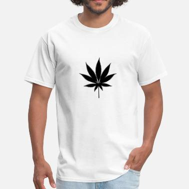 Cannabis Leafs - Men's T-Shirt
