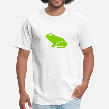 Frog Silhouette Frog (Leap Frog) Silhouette - Men's T-Shirt