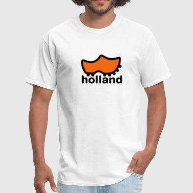 Holland wooden soccer shoe - Men's T-Shirt