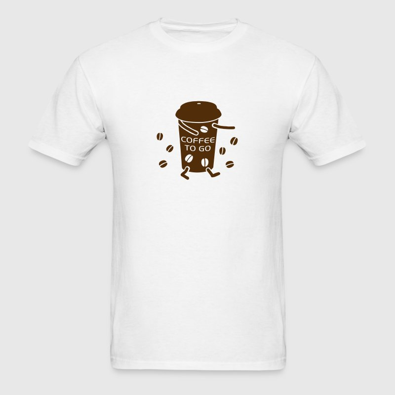 Coffee to go - V - Men's T-Shirt