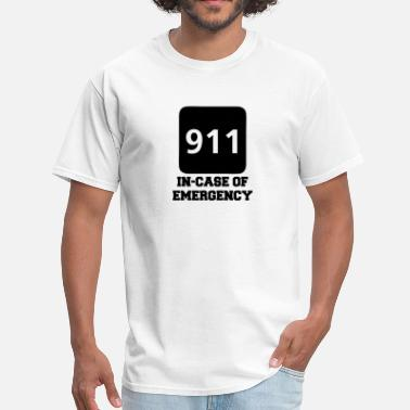 Emergency Call 911 In-Case of Emergency (call) - Men's T-Shirt