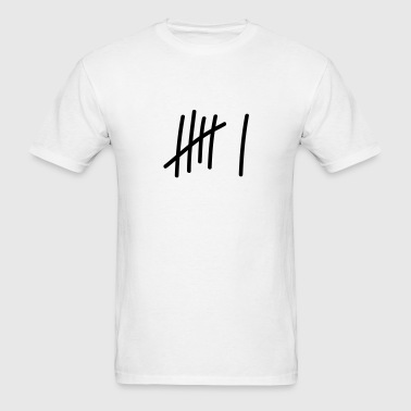 6 lines // 6 times // birthday // gift // sport - Men's T-Shirt