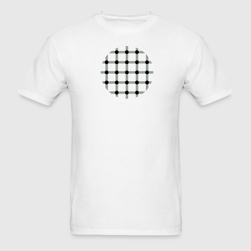 optical illusion - Men's T-Shirt