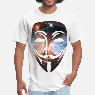 Hacker Cosmic Mask - Men's T-Shirt