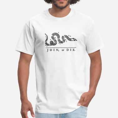 Join Join or Die - Men's T-Shirt