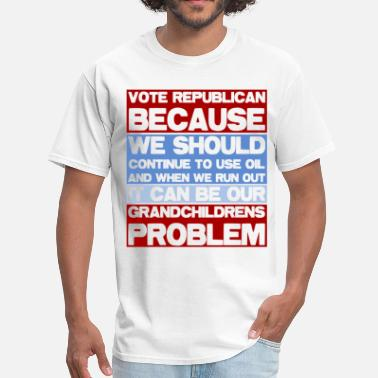 Republican Party Vote Republican - Men's T-Shirt