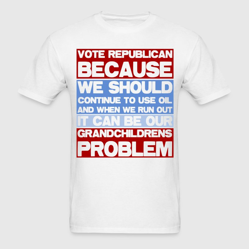 Vote Republican - Men's T-Shirt